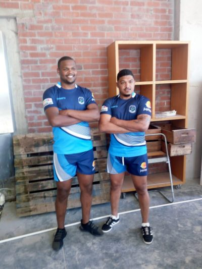 Newtons Rugby players sponsored by Jupiter Group