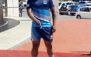 Newtons Rugby player sponsored by Jupiter Group