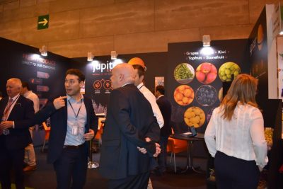 Jupiter Group stand in Madrid Fruit Attraction 2018