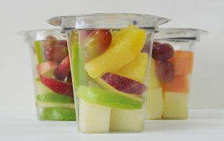 Jupiter Prepared mix fruit pots