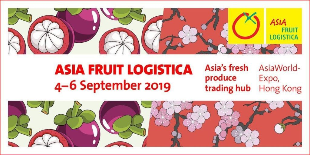 Asia Fruit Logistica 2019 Logo
