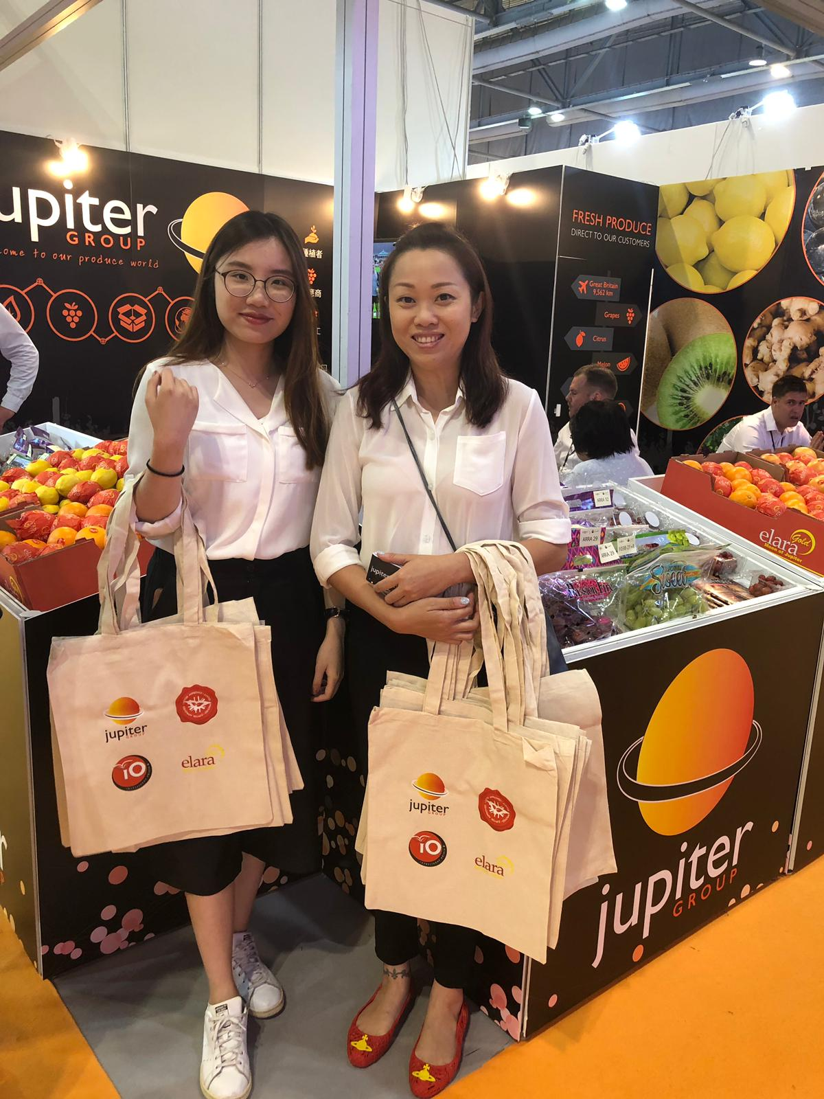 Jupiter stand Asia Fruit Logistica 2019