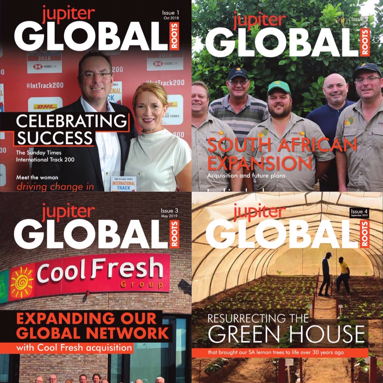 Jupiter corporate magazine Global Roots available soon