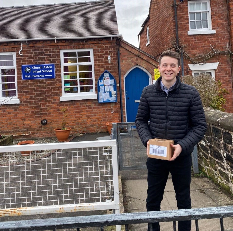 Jupiter Group delivering cheese to local communities