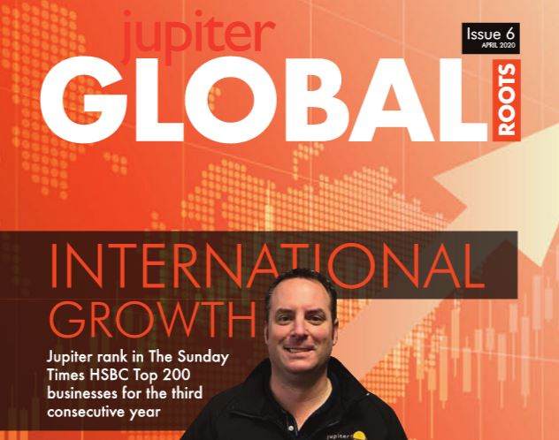 Jupiter Group's company magazine Global Roots