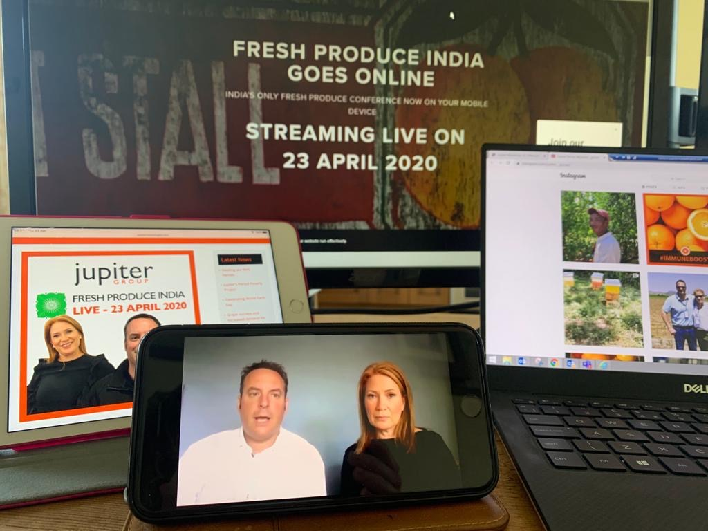 Mark and Yvonne Tweddle keynote speakers at fresh produce India 2020