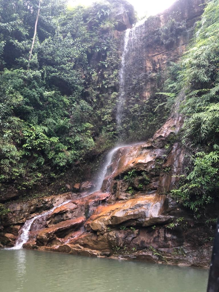 Jupiter Group's Colombian fresh produce- waterfall