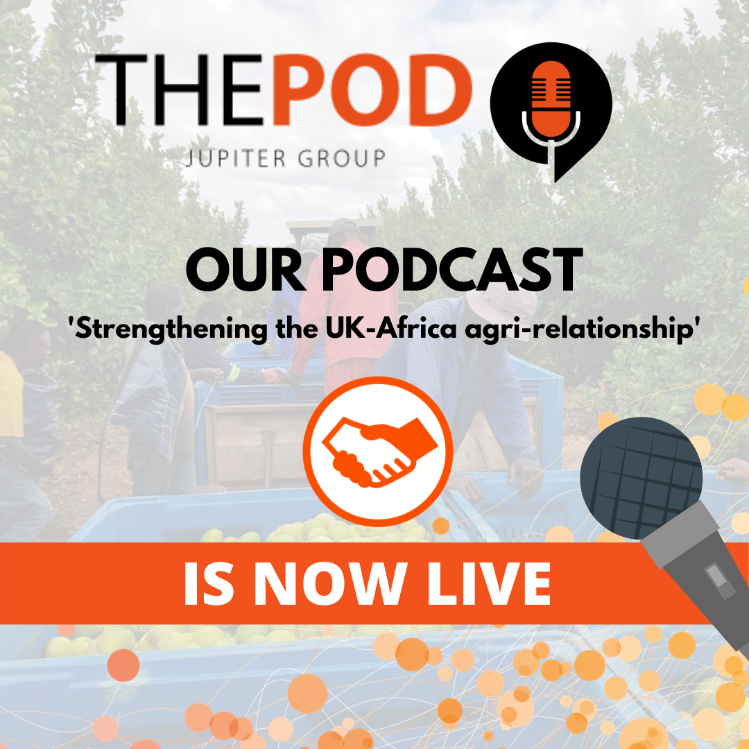 Jupiter Group's UK- Africa podcast now live