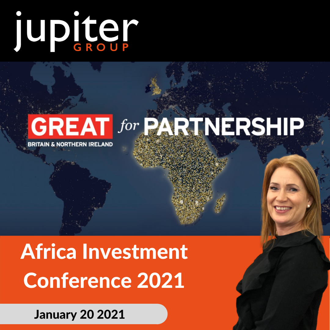 Fresh produce grower Jupiter Group's Yvonne Tweddle presenting at Africa Investment Conference 2021