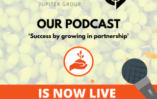 Jupiter Groups latest podcast available Success by growing in partnership