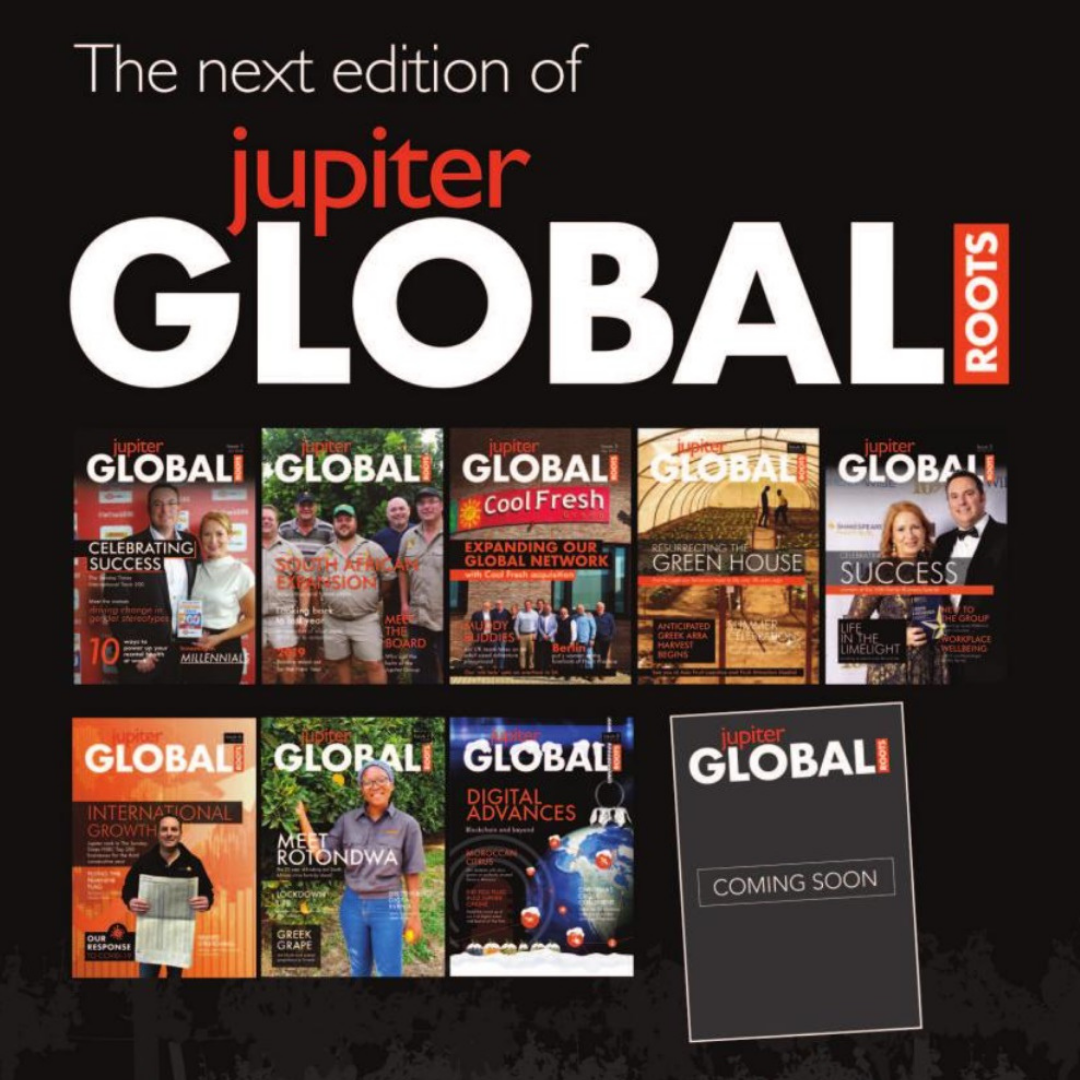 Jupiter Group's corporate magazine Global Roots released next week