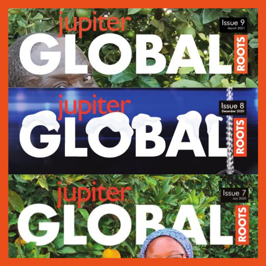 Global Roots is an interactive, digital e-magazine released four times per year